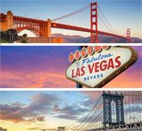 אמריקה הקסומה - טיול מחוף לחוף מניו יורק ועד לוס אנג'לס ועוד החל מכ-$4535*