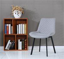 כסא אוכל מעוצב ומרופד בצבעים לבחירה