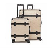 זוג מזוודות קשיחות Calpak דגם טרנק במגוון צבעים לבחירה