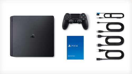 Sony PlayStation 4 PS4 500GB SLIM אירופאי !! משלוח חינם - תמונה 4