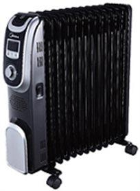 רדיאטור 13 צלעות דיגיטלי עם שלט וטיימר MIDEA 2500W דגם NY2513-13AL - משלוח חינם!