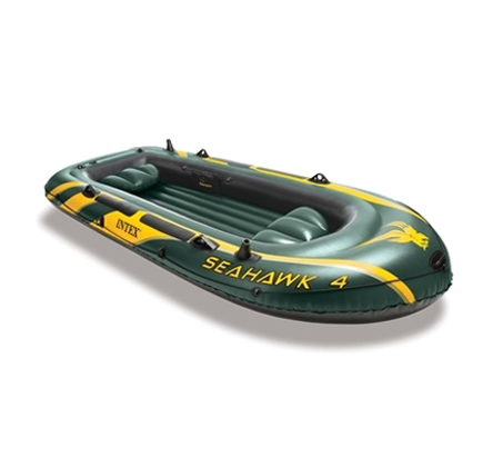 סירת גומי SeaHawk מתנפחת ל-4 אנשים דגם INTEX 68350