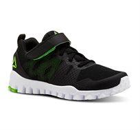 נעלי ריצה לנוער REEBOK דגם CN2838 בצבע שחור/לבן