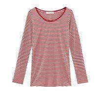 חולצה טישירט PROMOD - אדום לבן