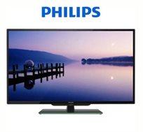 """מחיר מדהים! טלוויזיה """"50 LED FHD Philips, כולל תפריט בעברית וטיונר דיגיטלי מובנה לקליטת שידורי עידן+"""