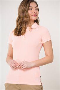 חולצת פולו לנשים Nautica בצבע ורוד