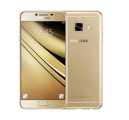 """טלפון סלולרי Samsung Galaxy C7 זיכרון 32GB מסך """"5.7 מצלמה 16MP מ.הפעלה 1.Android 6.0"""