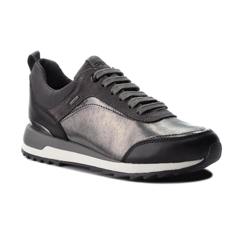 נעלי סניקרס GEOX לנשים D ANEKO B ABX A - MET.TEXT+SU - צבע לבחירה