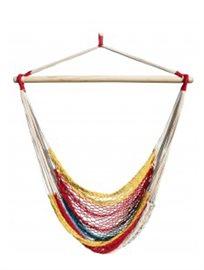 ערסל ישיבה מבית Camptown דגם הוואי, עשוי רשת בעבודת יד, לחצר/למרפסת ולטיולים, רק ₪99!