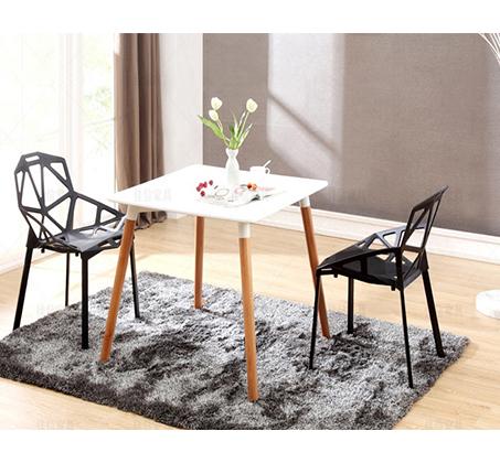 כיסא פינת אוכל למרפסת ולגינה בעיצוב גאומטרו במבחר צבעים  - תמונה 4