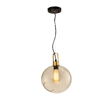 מנורת תליה בגימור נחושת ספירס ביתילי