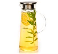 קנקן שתייה מזכוכית 1.4 ליטר