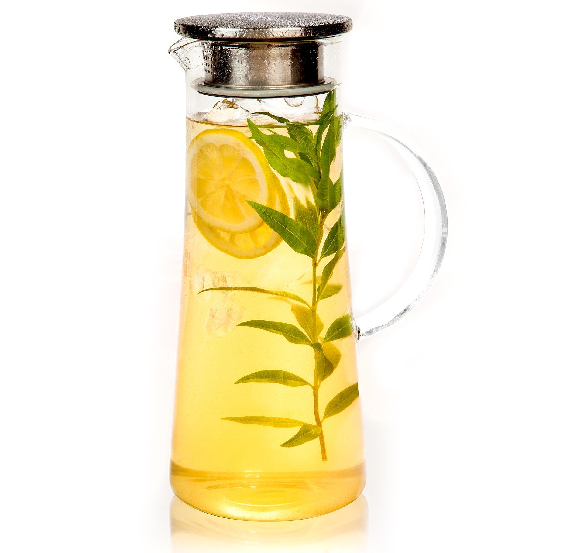 קנקן שתייה מזכוכית 1.4 ליטר מבית ARCOSTEEL