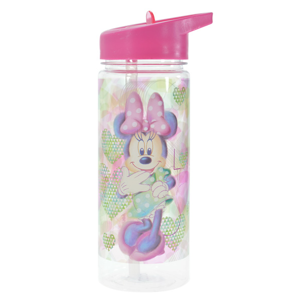 מארז 2 בקבוקי שתיה+מדבקת שם לילדים במגוון מותגים עם קש Tritan - תמונה 2