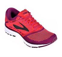 נעלי ריצה Brooks לאישה - אדום/ סגול