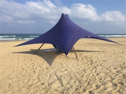 בד אוהל לייקרה בינוני 5X3.4 - משלוח חינם - תמונה 8