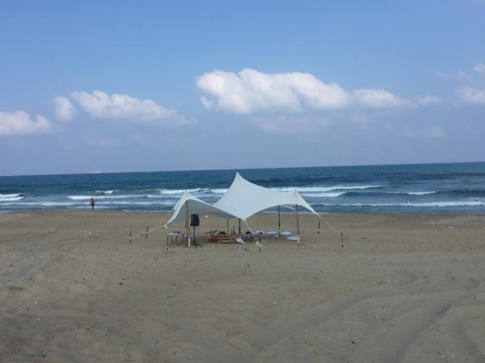 בד אוהל לייקרה בינוני 5X3.4 - משלוח חינם - תמונה 6