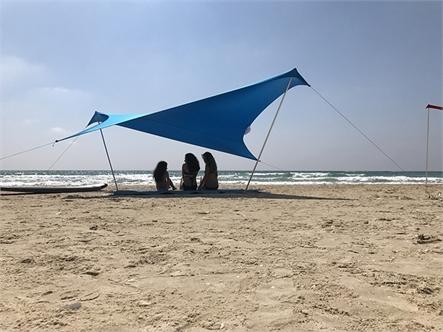 בד אוהל לייקרה בינוני 5X3.4 - משלוח חינם - תמונה 3