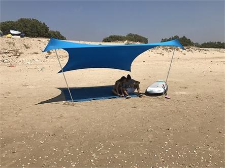 בד אוהל לייקרה בינוני 5X3.4 - משלוח חינם - תמונה 4