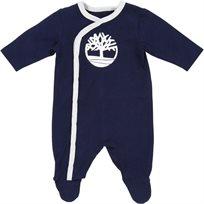 Timberland טימברלנד אוברול תינוק (1-3 חודשים) - אוברול כחול כהה