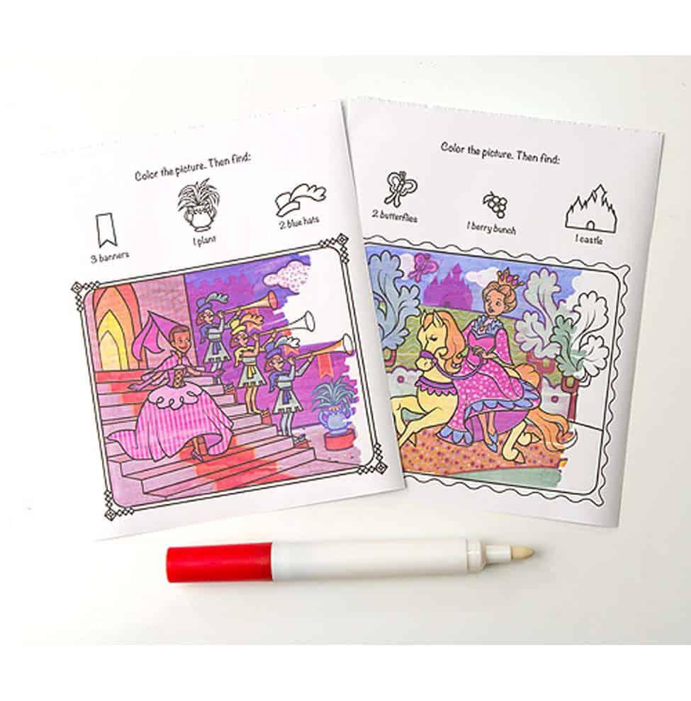 חוברת טוש הקסם נסיכות - תמונה 2