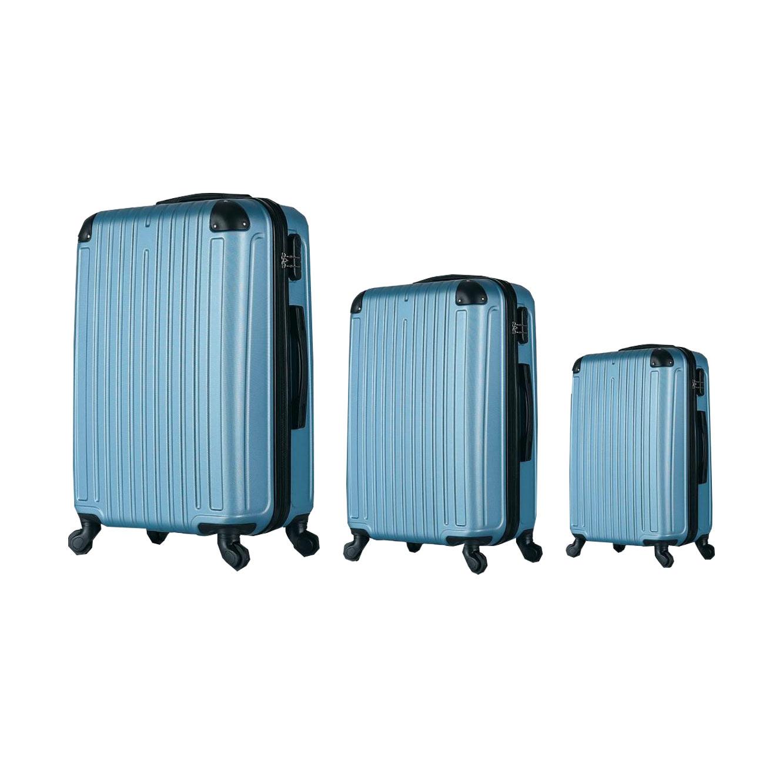 סט 3 מזוודות קשיחות - במגוון צבעים