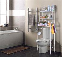 ארגונית אחסון לחדר השירותים והאמבטיה