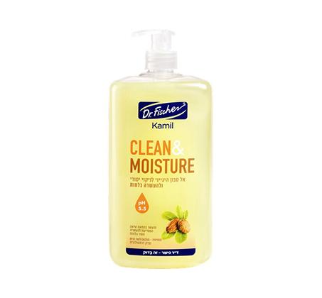 """מארז 6 יחידות אל סבון רעננות צהוב ד""""ר פישר 1 ליטר"""