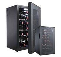 מקרר היין האידיאלי בעיצוב חדשני המיועד לאחסון 28 בקבוקי יין בשילוב ובנוחות DIAMLLER