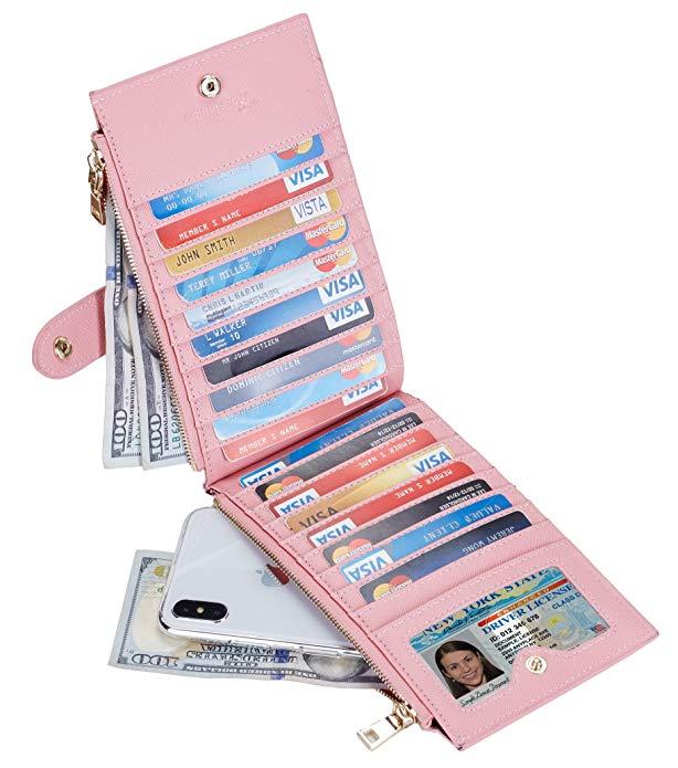 Lambo Wallet Multi Card Case Pink Sakura - תמונה 3