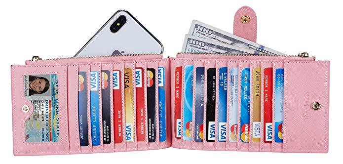 Lambo Wallet Multi Card Case Pink Sakura - תמונה 4