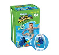 "3 מארזי האגיס ליטל סווימרס Huggies Little Swimmers כולל כדור ים ""מוצאים את דורי"" מתנה"