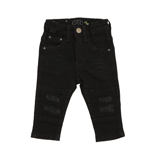 Oro ג'ינס(12 חודשים -16 שנים) - שחור פאטצ' בברכיים