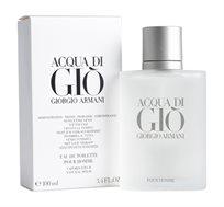 """בושם לגבר Aqua D'gio Tester א.ד.ט 100 מ""""ל Giorgio Armani"""