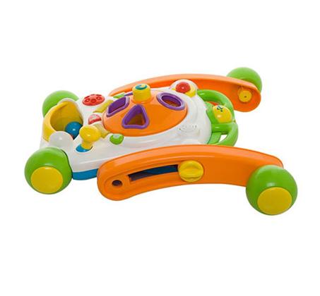 הליכון Ride-on Baby Deluxe - הליכון משחק אידאלי לצעדים ראשונים WEINA - תמונה 3