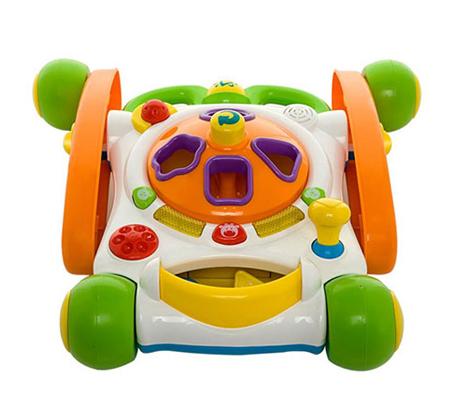 הליכון Ride-on Baby Deluxe - הליכון משחק אידאלי לצעדים ראשונים WEINA - תמונה 2