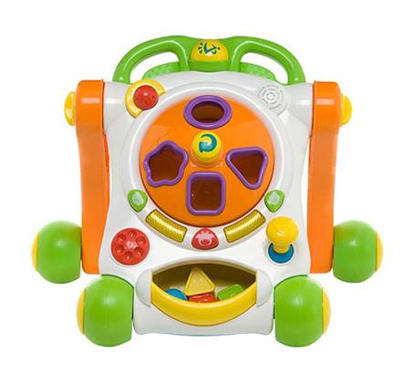 הליכון Ride-on Baby Deluxe - הליכון משחק אידאלי לצעדים ראשונים WEINA - תמונה 4