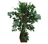 צמח מלאכותי פיקוס בנימינה לעציץ