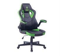 כסא גיימינג COMBAT XL בצבע ירוק דגם  GPDRC-COM-XLG