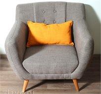כורסא בעיצוב מודרני עשויה עץ מלא דגם אלואיז