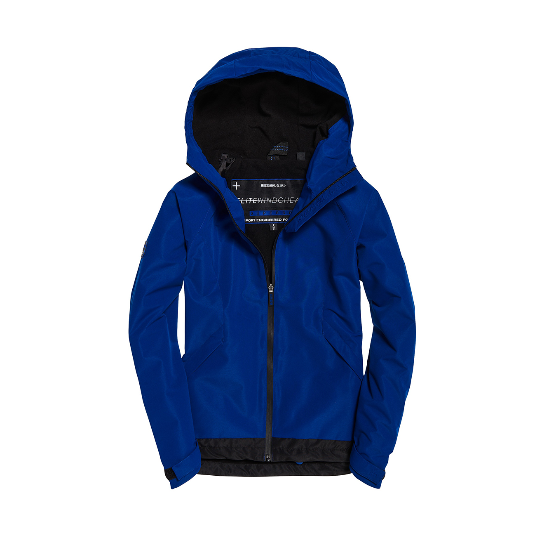 מעיל רוח לנשים - כחול