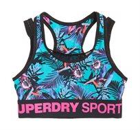 חזיית ספורט ACTIVE LAYER לנשים SUPERDRY בצבע צבעוני