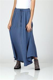 חצאית כותנה בכחול רך - CUBiCA