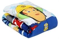 שמיכת פוך חורפית למיטת תינוק או מעבר סמי הכבאי צבעוני