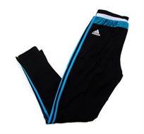 מכנסי ספורט גברים ADIDAS סקיני קבוצת מרסיי בצבע שחור
