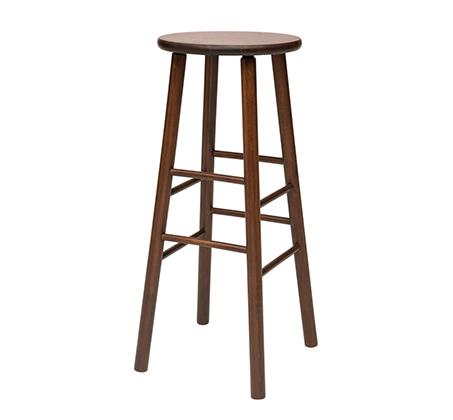 כסא שרפרף גבוה מעץ דגם יופיטר