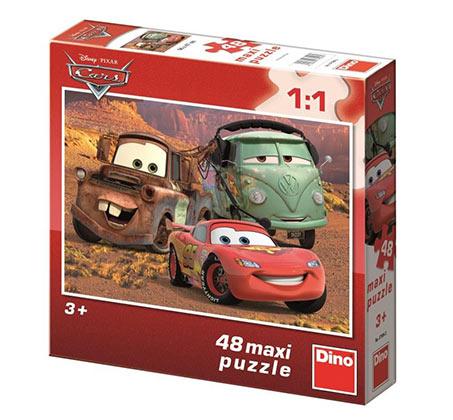 פאזל מכוניות 2 מכיל 48 חלקים