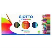 מארז 50 עפרונות צבעוניים איכותיים