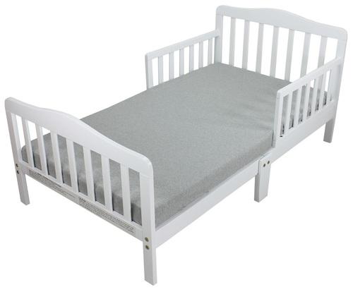מיטת מעבר מחוזקת בעלת 6 רגליים לואיזה - בלבן