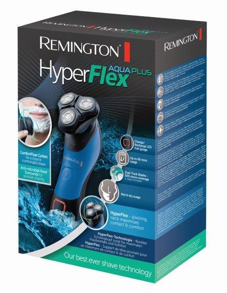 מכונת גילוח Remington רוטורית HyperFlex Aqua Plus דגם XR1450T מתצוגה - משלוח חינם - תמונה 5